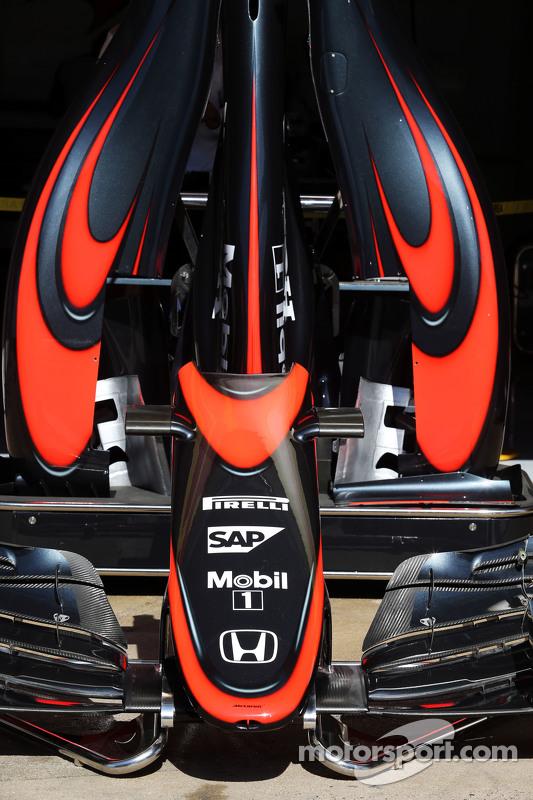 McLaren MP4-30, neues Design