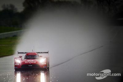 Pruebas de Nissan LMP1 abril
