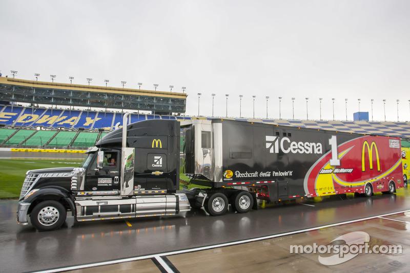 Le Camion De Jamie Mcmurray Ganassi Racing Chevrolet
