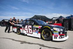 El auto de  Michael Annett, HScott Motorsports Chevrolet