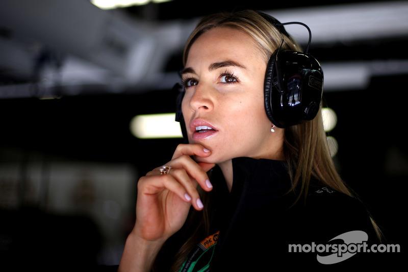 Carmen Jordá, Lotus F1 Piloto de Desarrollo del Equipo