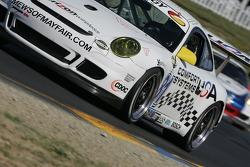 #81 Comfort Systems/ Synergy Racing Porsche GT3 Cup: Steve Johnson, Robert Nearn
