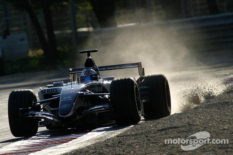 Monza August test
