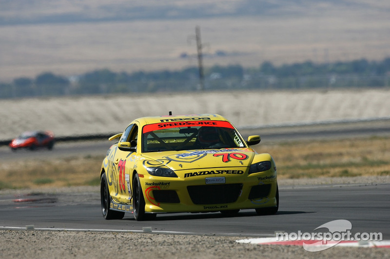 La Mazda RX-8 n°70 de SpeedSource (David Haskell, Sylvain Tremblay)