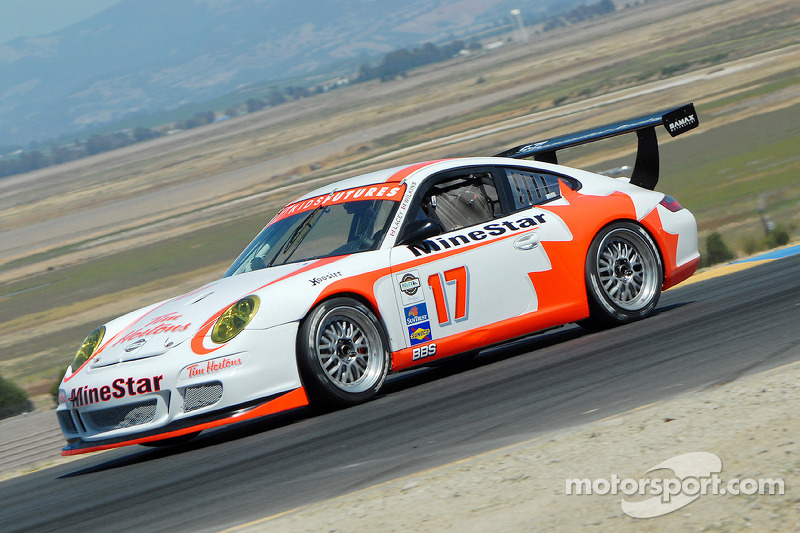 #17 SAMAX/ Doncaster Racing Porsche GT3 Cup: Dave Lacey, Greg Wilkins