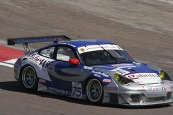 #75 Ebimotors Porsche 996 GT3 RSR: Emmanuel Collard, Luca Riccitelli