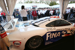 100th FIA-GT race display: McLaren F1 GTR