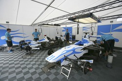 DPR prepare their cars