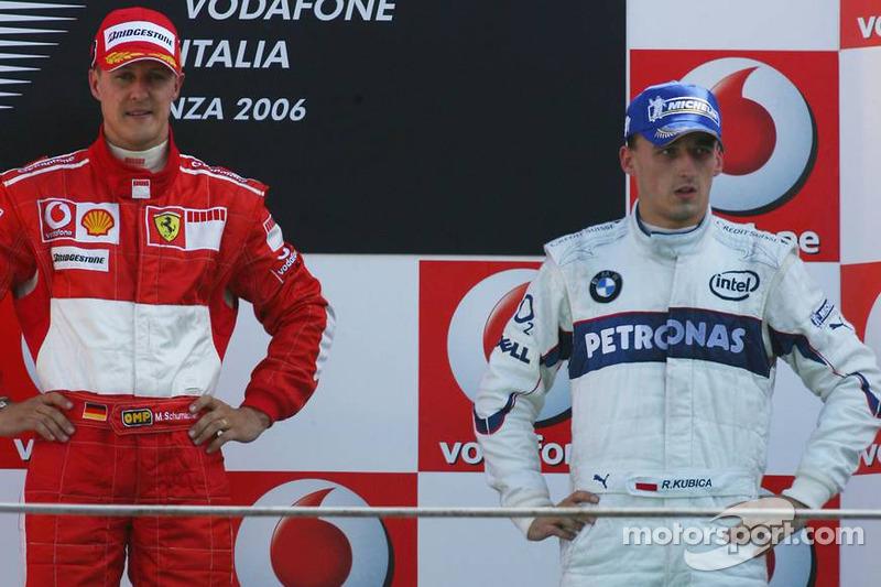 #7: Robert Kubica, GP de Italia 2006 (21 Años, 278 días)