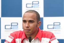 Press conference: GP2 Series champion Lewis Hamilton