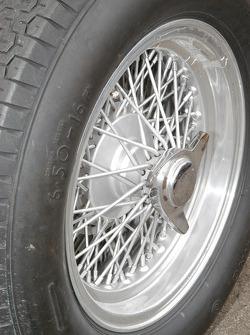 1955 Maserati 250F wheel