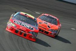 Jeff Gordon and Jeff Burton