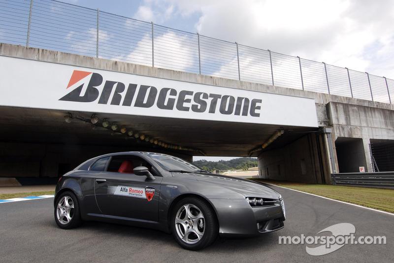Alfa Romeo en la exhibición en Motegi