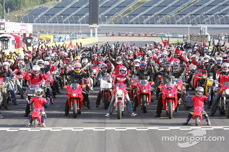 Desfile Ducati