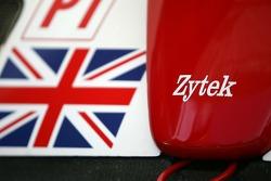 Detail of the Zytek Engineering Zytek 06S Zytek