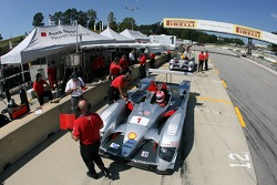 Audi Sport North America pit area
