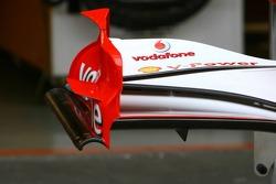 Scuderia Ferrari 248 F1 front wing endplate