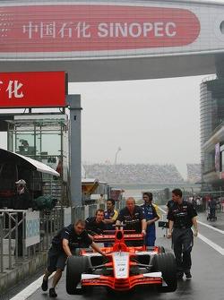 Spyker MF1 Racing photoshoot
