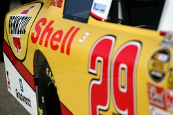 Richard Childress Racing Shell sponsorship press conference: detail of the Shell/Pennzoil 2007 Chevrolet Monte Carlo SS