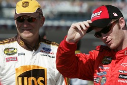 Dale Jarrett and Dale Earnhardt Jr.