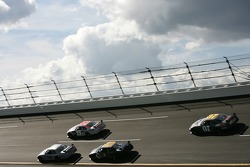 Jimmie Johnson, Carl Edwards, Mike Skinner and Clint Bowyer