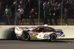 Mark Martin in the wall