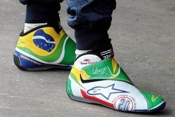 Vitantonio Liuzzi boots designed by a competition winner