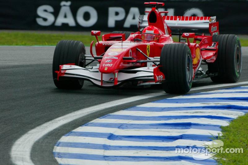 2006: Формула 1 в Сан-Паулу