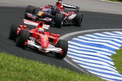 Felipe Massa and Scott Speed