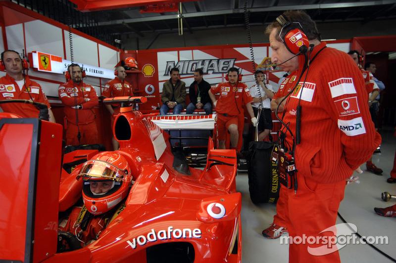Michael Schumacher und Jean Todt