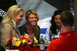 Michael Schumacher plays backgammon with wife Corina