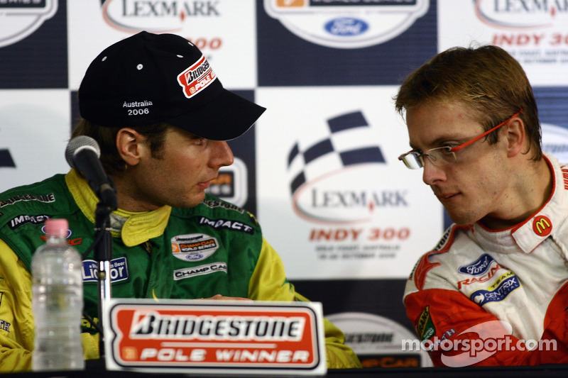 Will Power et Sébastien Bourdais