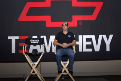 Press conference: Jimmie Johnson announces NASCAR Nextel Cup Series 2007 Chevrolet Impala SS Car of Tomorrow