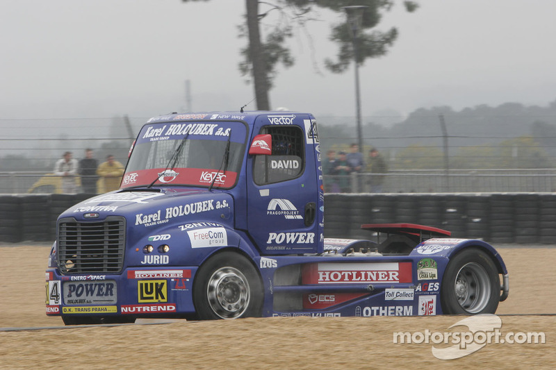 Buggyra Int. Racing System Freightliner n°4 : David Vrsecky