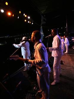 Live entertainment at Talladega
