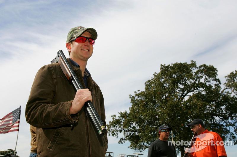 Beretta Celebrity Clay Shoot au Ranch Circle T à Fort Worth au Texas : Kurt Busch