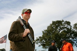 Beretta Celebrity Clay Shoot, at the Circle T Ranch in Fort Worth, Texas: Kurt Busch