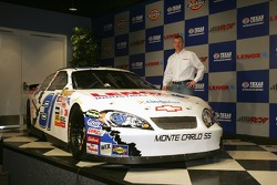 Jeff Burton stands next to the #31 Lenox Industrail Tools Chevrolet, which he will drive in 2 races in the 2007 season