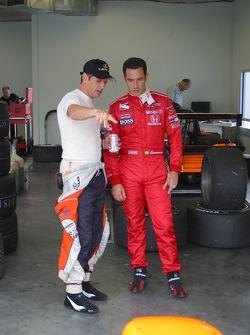 Oswaldo Negri and Helio Castroneves