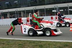 Journée des RP, Mountfield Cup on Tractors : Sergio Pérez