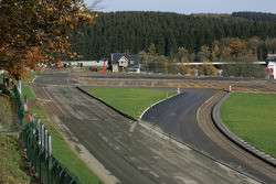 Spa-Francorchamps construction work