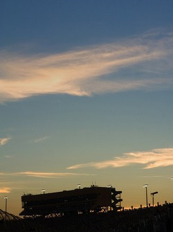 Early evening sky at Homestead