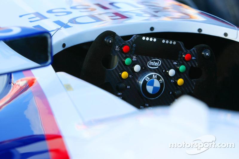 Volant de la BMW Sauber F1