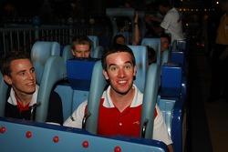 Cosmos World Theme Park, Kuala Lumpur: Robbie Kerr and Sean McIntosh