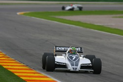Thoroughbred GP race: J. Folch, Brabham BT49C-10