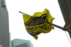 NASCAR Nextel Cup colors in the streets of New York City