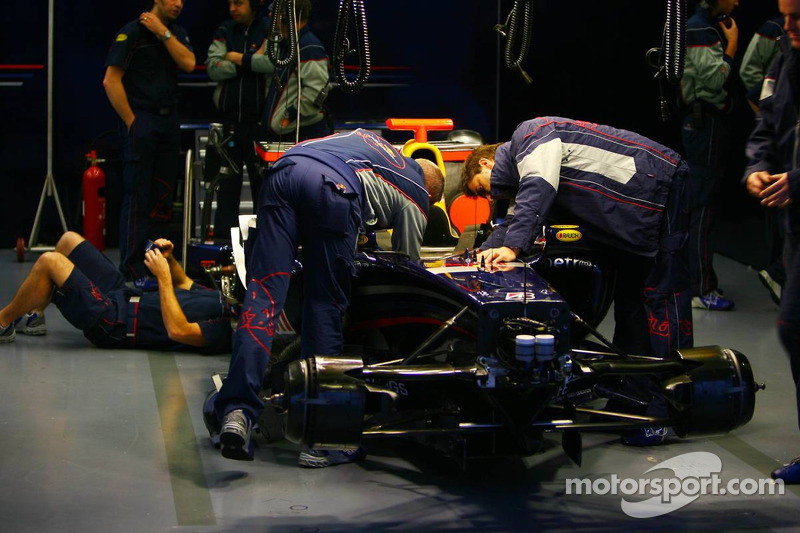 L'équipe Red Bull Racing