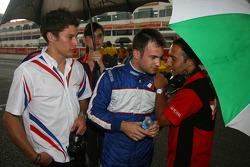 Loic Duval, Nicolas Lapierre and Khalil Beschir