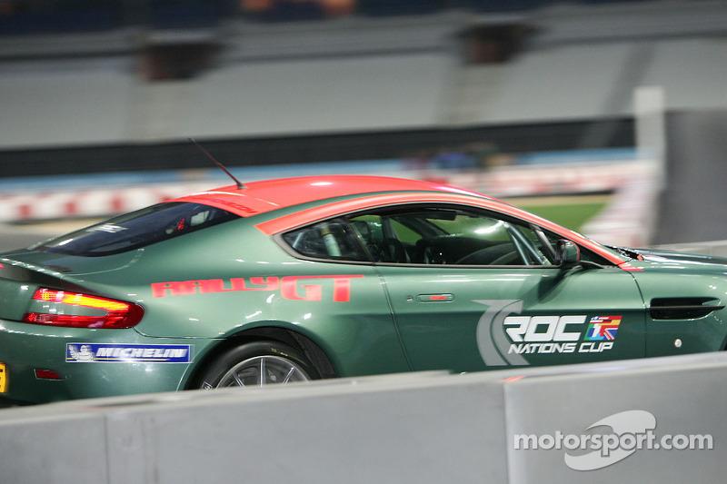 Aston Martin Rally GT practice
