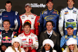 2006 Race of Champions drivers pose